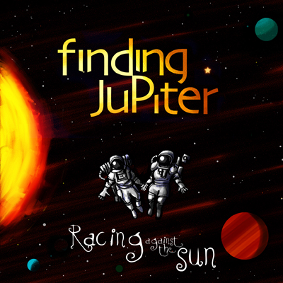 """Racing Against the Sun"" Album Cover"