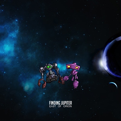 """East of Orion"" Album Cover"